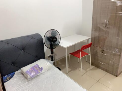room for rent, single room, ara damansara, PACIFIC PLACE/SINGLE ROOM/FULLY FURNISHED/LRT STATION