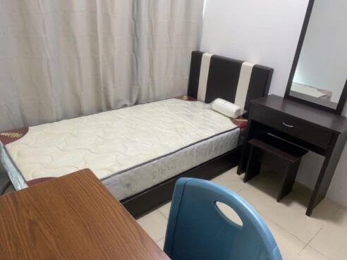 room for rent, single room, ara damansara, (FEMALE)PACIFIC PLACE/SINGLE ROOM/FULLY FURNISHED/LRT STATION