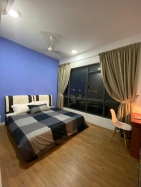 room for rent, master room, shah alam, ‼️FREE UTILITIES LOW DEPOSIT‼️Fully Furnished Master Room at Paramount Utropolis Glenmarie
