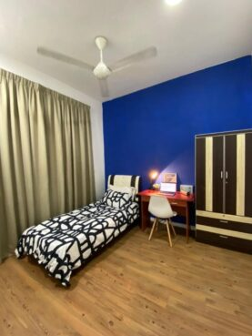 room for rent, medium room, shah alam, ‼️FREE UTILITIES LOW DEPOSIT‼️Fully Furnished Medium Single Room at Paramount Utropolis Glenmarie