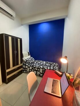 room for rent, single room, shah alam, ‼️FREE UTILITIES LOW DEPOSIT‼️Fully Furnished Small Single Room at Paramount Utropolis Glenmarie