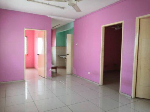 room for rent, full unit, sungai besi, (near LRT Bandar Tasik Selatan) Pangsapuri Permai Sungai Besi
