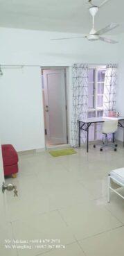 room for rent, medium room, jalan hang isap, Medium Room Bukit Bintang Secured Female