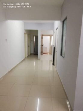 room for rent, single room, jalan hang isap, Single Room Bukit Bintang Secured Female-room2