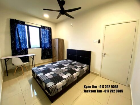 room for rent, single room, sentul, PRIVATE ROOM for rent @ ONE MAXIM SENTUL