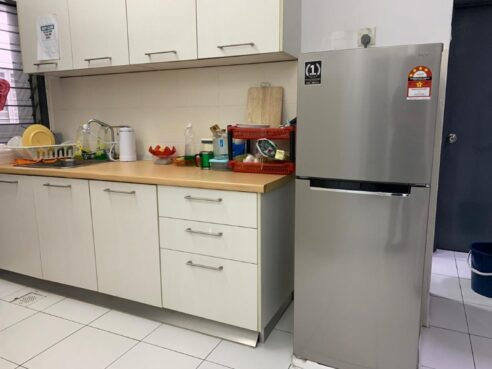 room for rent, single room, taman mas sepang, [ FREE utilities ] AC and fully furnished single room for rent