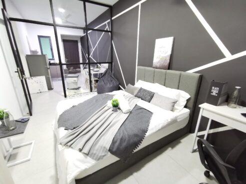 room for rent, studio, perai, 🔥🔥Brand New Chic Studio @ Meritus Residensi, Seberang Perai,Prai, Penang.