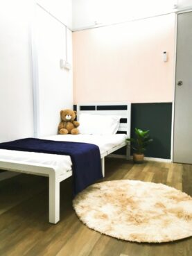 room for rent, single room, ttdi plaza, Single Room with AirCond For Rent at TTDI Near MRT Station
