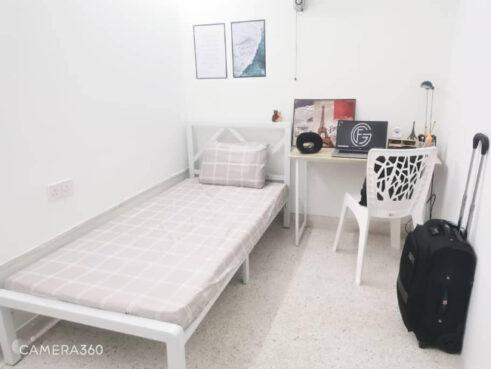 room for rent, medium room, ttdi plaza, Zero Deposit! ~ New Medium Room Unit for Rent at Taman Tun Dr Ismail