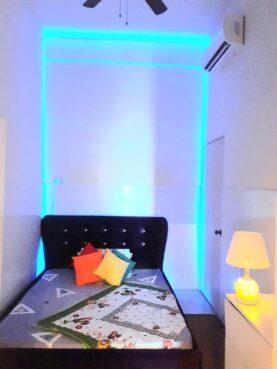 room for rent, medium room, bandar baru ampang, Couple aircond room with private bathroom ampang prima condo