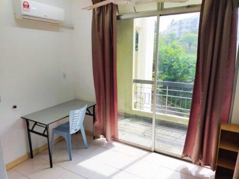 room for rent, single room, cyberjaya, Single Room with Big Balcony and Good View @ Cyberjaya