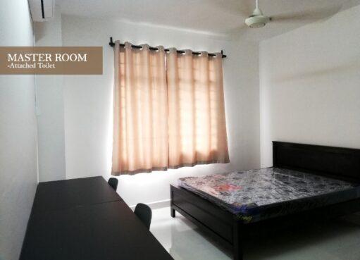 room for rent, master room, bukit oug, LRT Convenient Master Room @ Bukit OUG Condominium