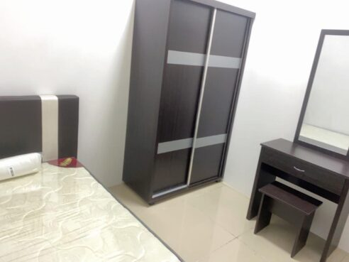 room for rent, single room, ara damansara, PACIFIC PLACE/FEMALE/SINGLE ROOM/FULLY FURNISHED/LRT STATION