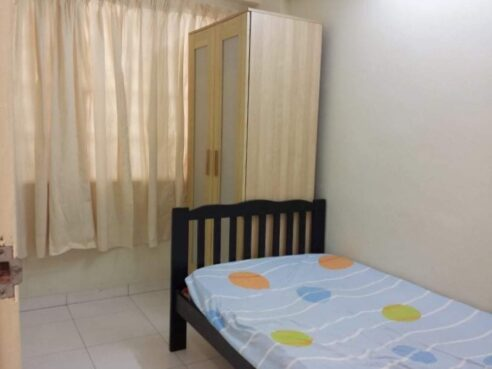 room for rent, single room, mutiara damansara, Single Rooms for rent for Malay Female