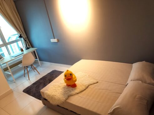 room for rent, medium room, elite height, Private Middle Room at Elit Heights, Bayan Baru INCLUDED utilities, high speed WIFI
