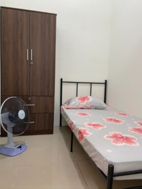 room for rent, single room, sungai besi, Sungai Besi LRT Station, Lake Fields, TBS, Trillium Shop apartment Level 2