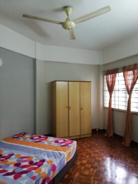 room for rent, medium room, ss7, Single Room with good view