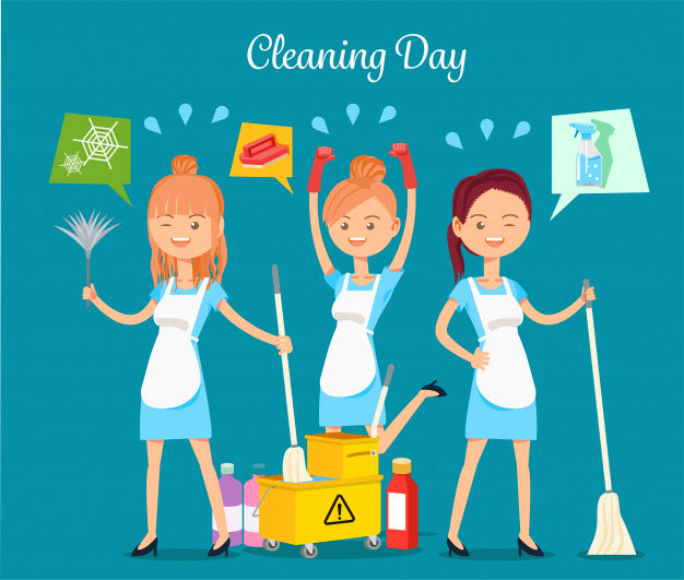cleaning-house-roommates