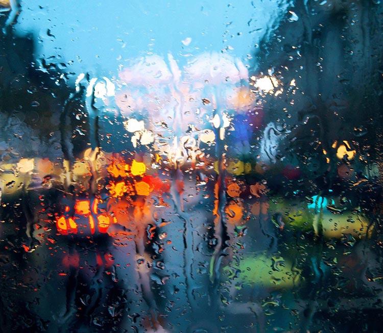 Raining in Malaysia
